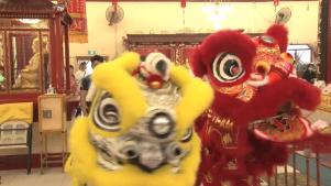 20210219 明月居士林舉行新春團拜及祈福活動:新州工黨領袖拜訪唐人街慶祝農曆新年